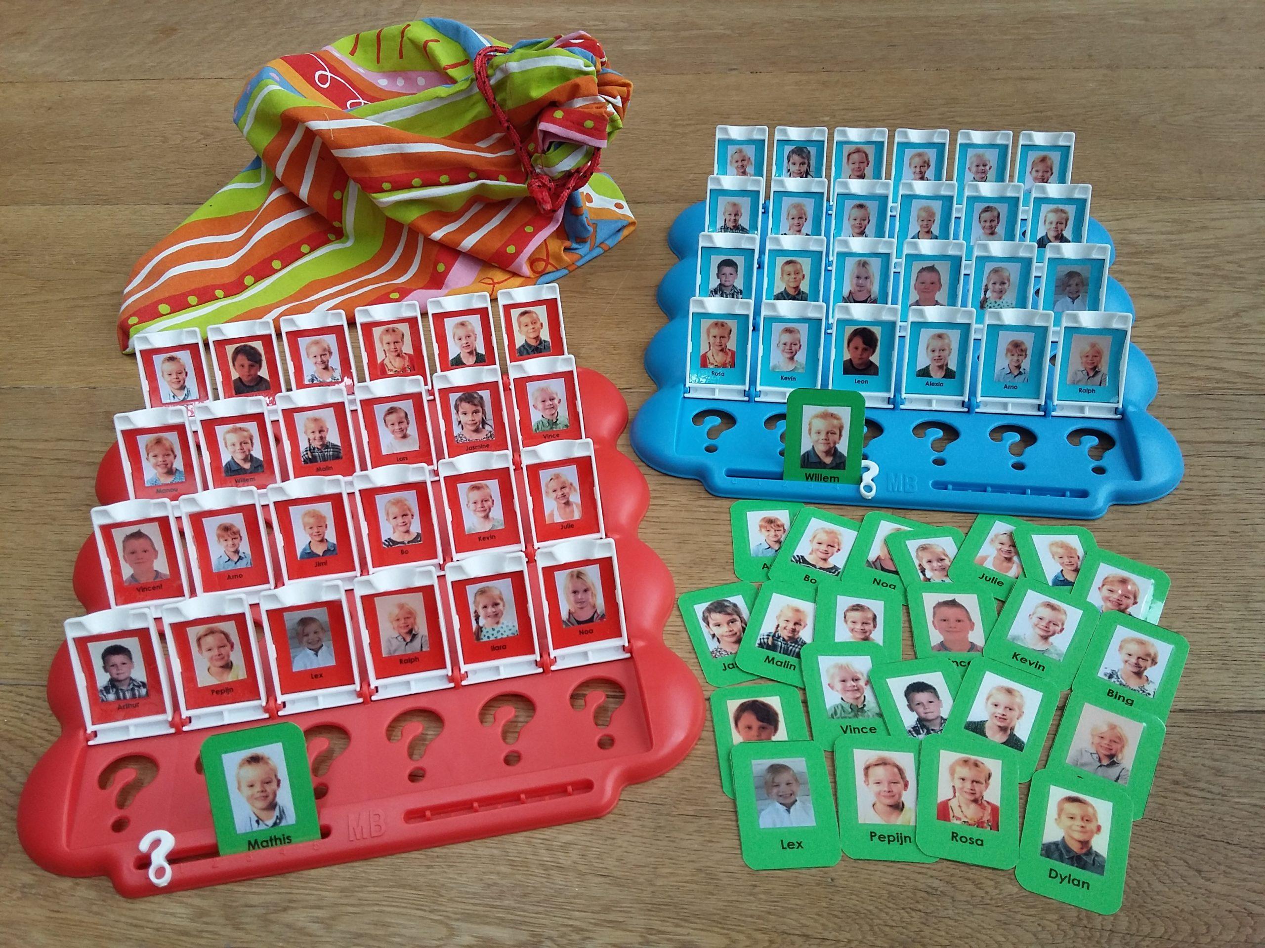 Hedendaags Spel 'wie is het' gepersonaliseerd! PV-84